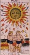 Il Sole nei tarocchi di Jean Dodal
