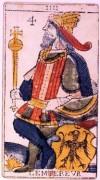 L'Imperatore nei tarocchi di Jean Dodal