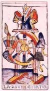 La Ruota della Fortuna nei tarocchi di Jean Dodal