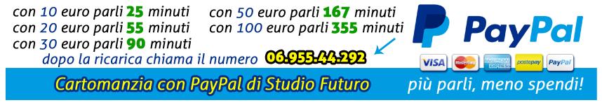 Cartomanzia PayPal Studio Futuro