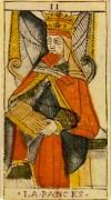 La Papessa nei tarocchi di Jean Dodal