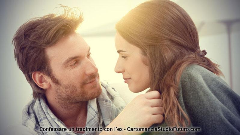 Confessare un tradimento con l'ex