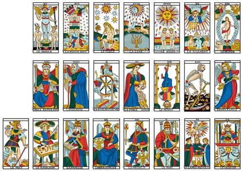 La salute dei miei cari con le carte