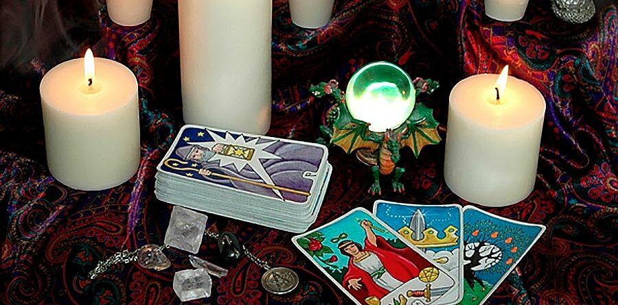 serenità con le carte divinatorie